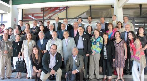 Con encuentro de ex alumnos se dio por finalizada la celebración de los 60 años de Periodismo UdeC
