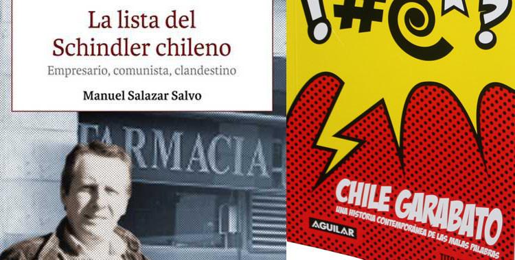 Periodismo UdeC invita al lanzamiento de los nuevos libros de Manuel Salazar y de Tito Matamala