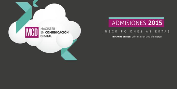 Ya están abiertas las inscripciones para el Magíster en Comunicación Digital de Periodismo UdeC