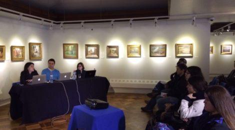 Tabita Moreno participó en jornada formativa que abordó las ventajas de las tecnologías móviles en la Educación Artística