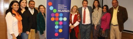 Tabita Moreno se reunió con académicos de otras universidades de Chile para organizar el encuentro de comunicación más importante de Latinoamérica