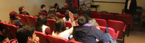 Gerente de Comunicaciones Corporativas de VTR realizó charla para estudiantes de Periodismo UdeC