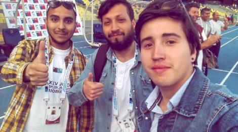 Estudiantes de Periodismo trabajaron como voluntarios en los XXV Juegos Binacionales de la Araucanía